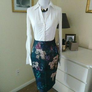 Skirt Flowers midi